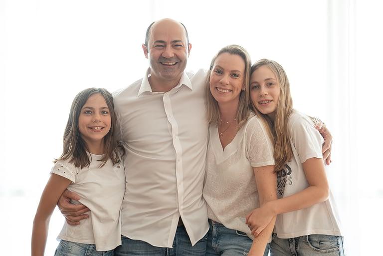 Ensaio em Familia - Residência